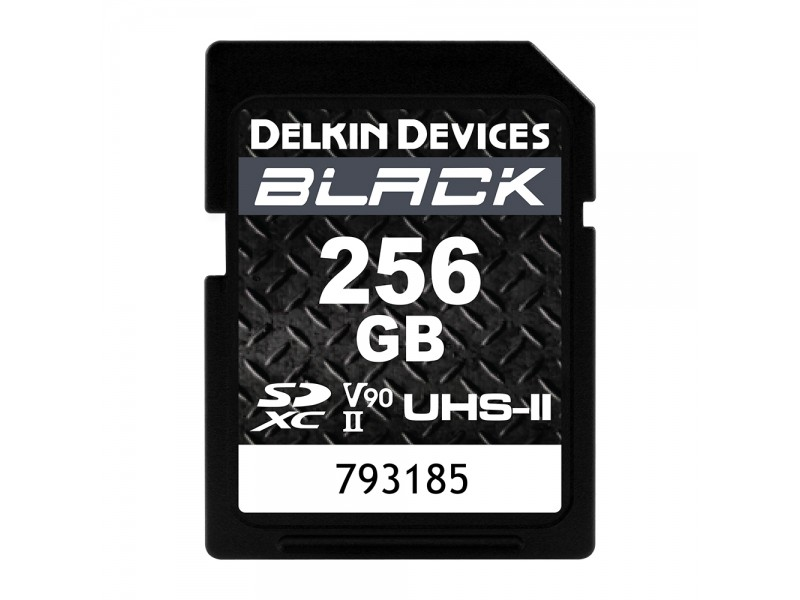 Delkin SD Black Rugged UHS-II V90 256gb